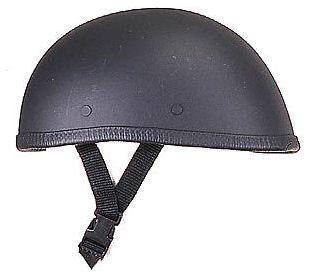 BikerAccess Novelty Eagle Flat Black Helmet