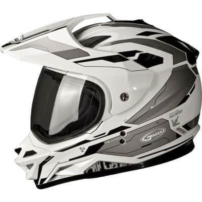GMAX GM11D Adult Dual Sport Motorcycle Helmet