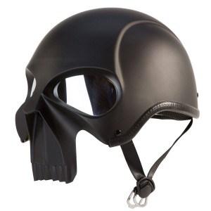 IV2 3D Skull Half Motorcycle Biker Helmet