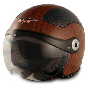 VCAN V528 Milano European Style Open Face Helmet
