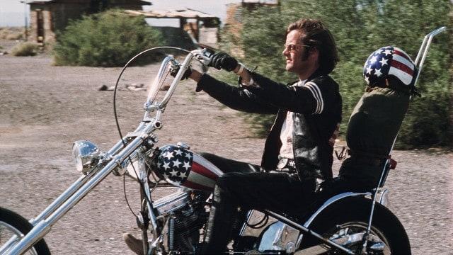 Captain America motorbike