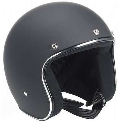 Flat Black Novelty Helmet by Biltwell