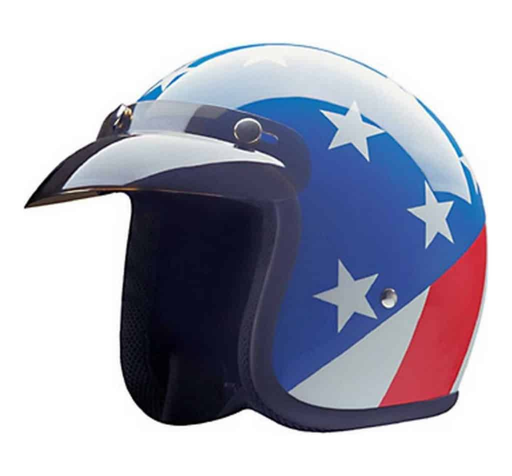 HCI Captain America Helmet w Visor USA