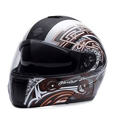 Harley-Davidson® Women's Steadfast Modular Helmet, Retract Sunshield.