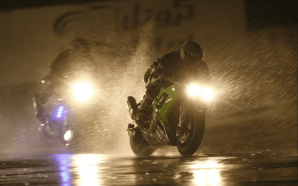 Riding through the Rain