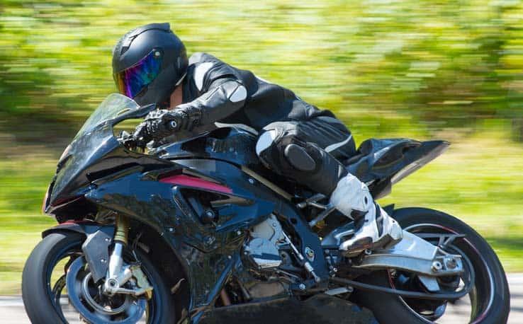 Motorcyle racing helmet