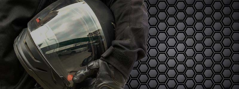 Super Strong Carbon Fiber Motorcycle Helmets That Are Ultra Light-Weight