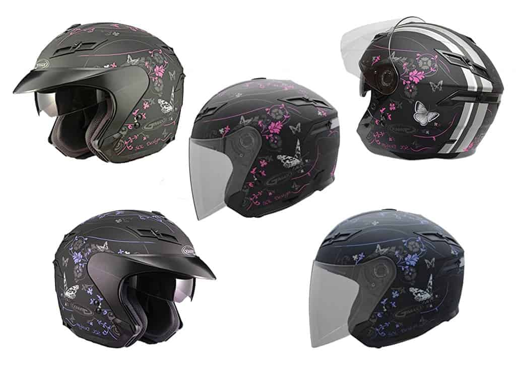 GMax Women's GM67 Open Face Helmet