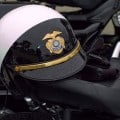 Police motor cycle helmet