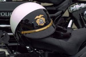 Police motor cycle helmet