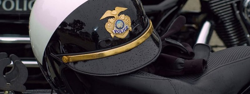 Official Police Motorcycle Helmets That Look Like Law Enforcement