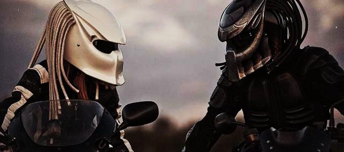 Top Predator Motorcycle Helmets – Some With Fiber Optic Dreadlocks