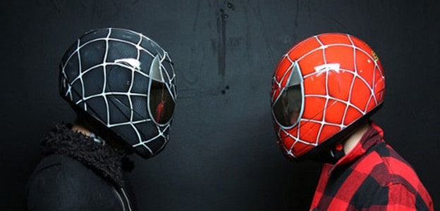 Spiderman Motorcycle Helmets – For Kids and the Young at Heart