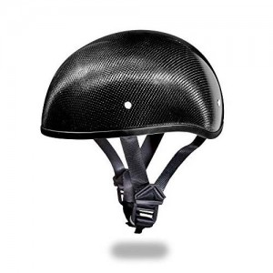 Daytona Skull Cap Style Half Shell Motorcycle Helmet