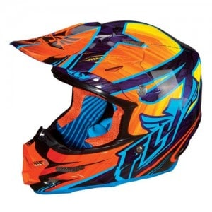 Fly Racing Dirt Bike Motorcycle Helmet