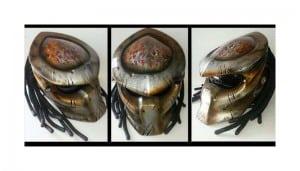 Hand made preditor Helmets