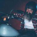 vintage motorcycle melmets