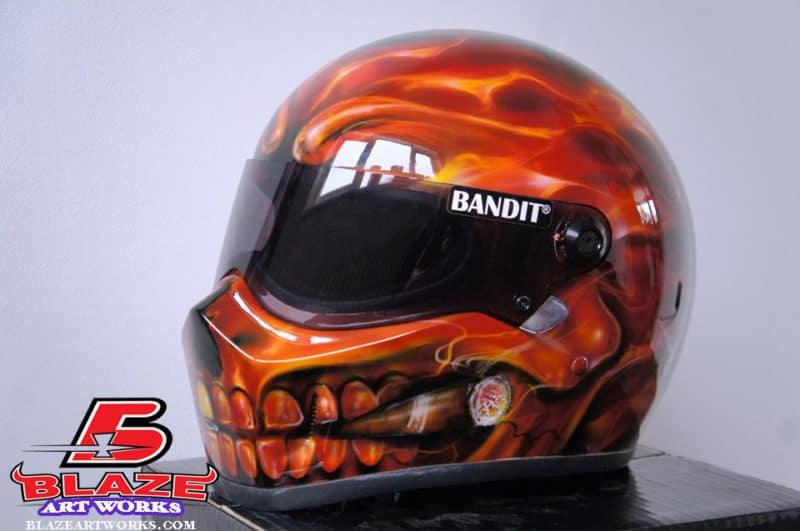 Custom Airbrush Motorcycle Helmets Motorcycle Helmet Hawk