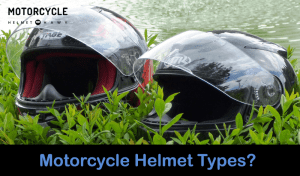 Different types of motorcycle helemts