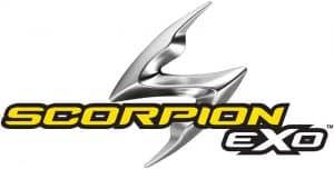 Scopion helmet logo