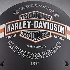 Harley helmets Logo