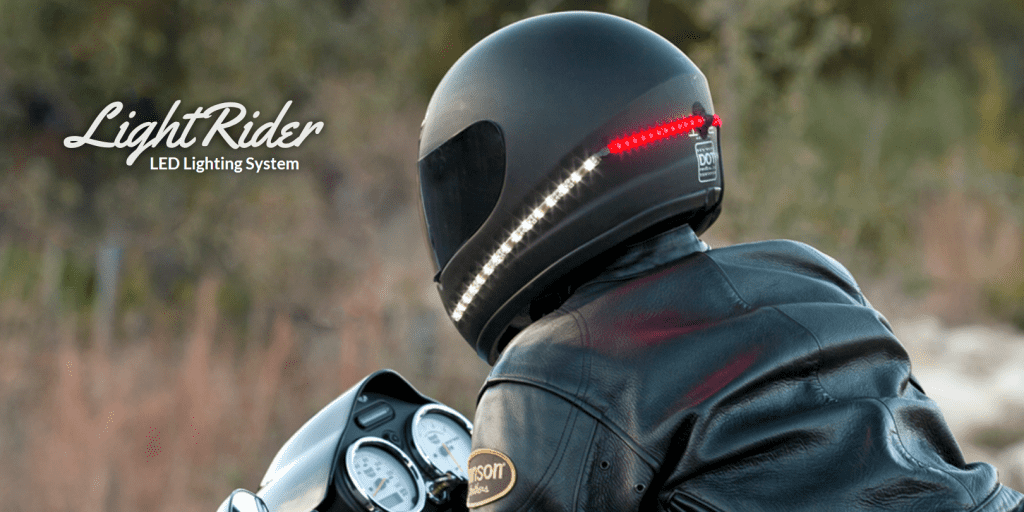 Best Motorcycle Helmet Lights That Keep You Safe And Stylish ...