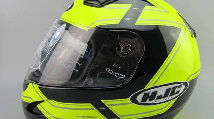 high visability motorcycle helmet